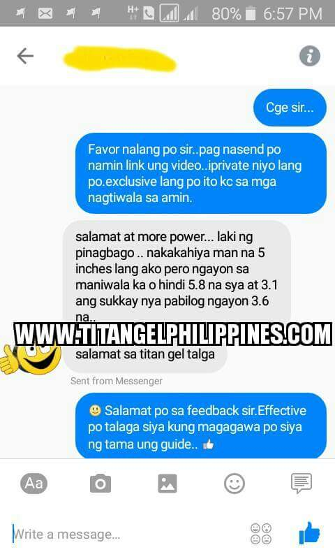 titan gel seller in philippines